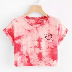 Tops - Tie dye crop top